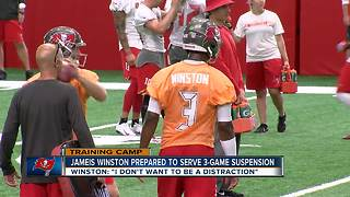 First day of Buccaneers training camp