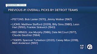 Looking back at previous No. 1 overall draft picks by Detroit teams