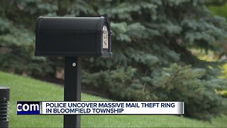 Police uncover massive mail theft ring in Bloomfield Township