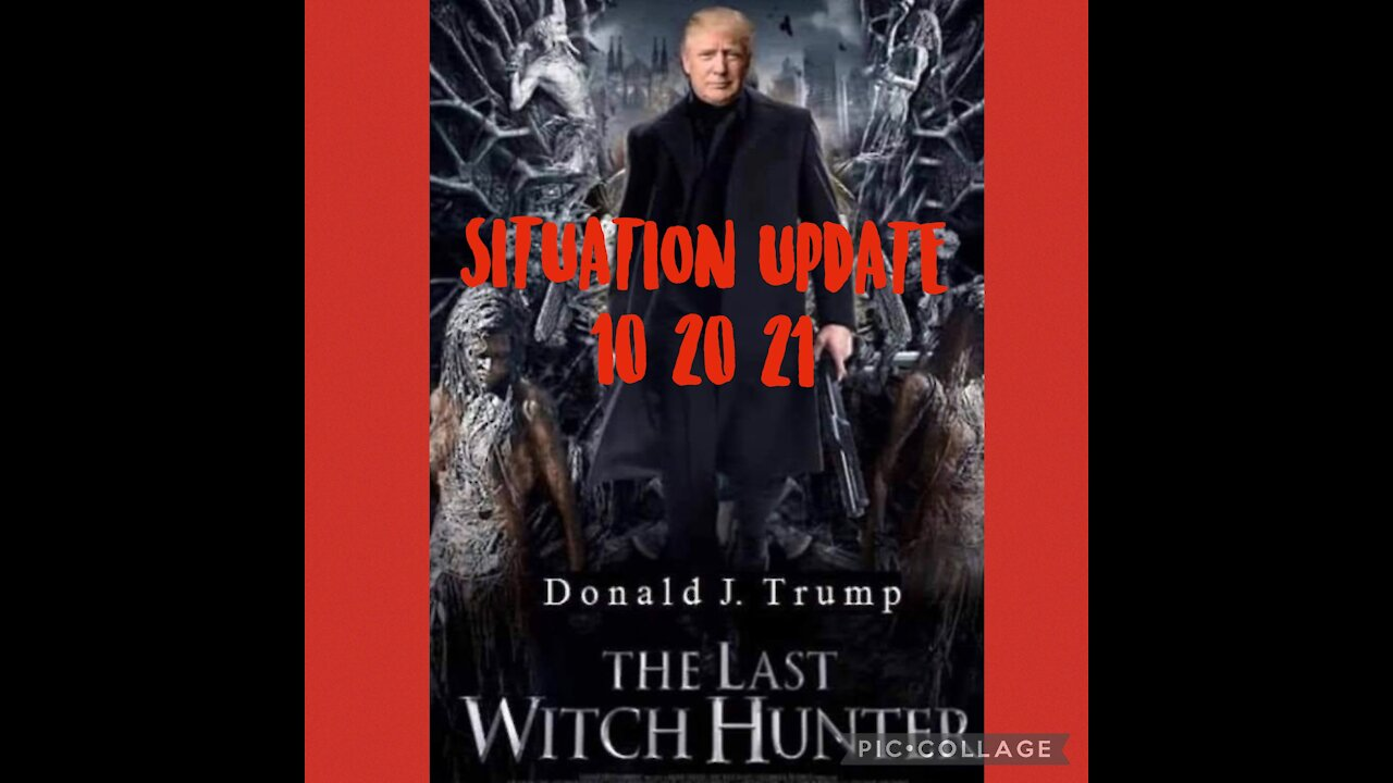Situation Update: - Trump: The Last Witch Hunter! We're In WW3! Fighting Satanists Seeking Enslavement & Mass Genocide! Jab Mandates Affecting Workforce! - We The People News