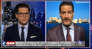 After Hours - OANN Desantis v. Cuomo with Rep. Greg Steube