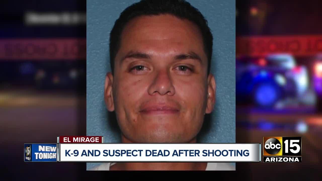 Police K9 killed in officer-involved shooting in El Mirage