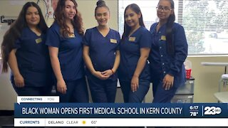 Black woman opens first medical school in Kern County