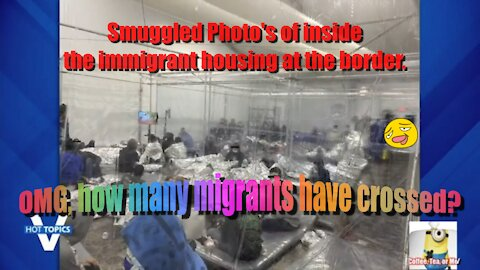 Smuggled living conditions photos of inside a u.s. customs and border protection facility.