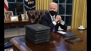 Biden Signs Flurry Of Executive Orders To Reverse Trump's Policies!