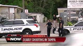 Tampa Police investigating fatal shooting