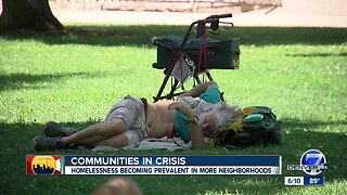 Residents of Denver's Civic Center neighborhood concerned with spike in transient population