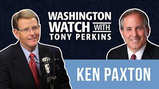 Texas AG Ken Paxton Discusses the U.S. DOJ's Lawsuit Against the Texas Heartbeat Law