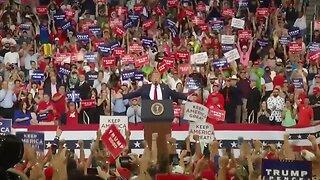 Replay: President Trump announces re-election bid at Orlando rally