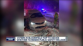 Voters in Bloomfield Twp to decide whether to renew public safety millage