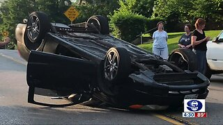 Car crashes alarm North Avondale residents