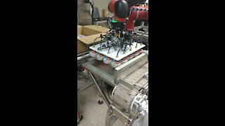 Automated Sauce Packing Robot