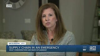How does supply chain management factor into emergency response plans?
