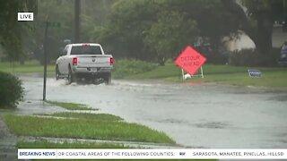 Tropical Storm Eta creating some flooding in Shore Acres