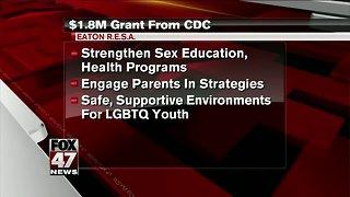 CDC gives money toward sex education program