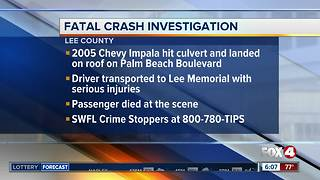 Witnesses needed after deadly crash