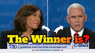 Kamala Harris Mike Pence Debate -- Pags Reacts