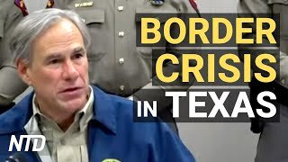 Texas Gov. Explains How Smugglers Use Kids; Texas Senate Passes Election, Censorship Bills   NTD