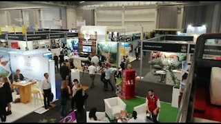 SOUTH AFRICA - Cape Town - The World Trade Market Expo (Video) (sng)