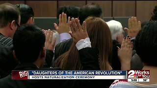 Daughters of the American Revolution hosts naturalization ceremony