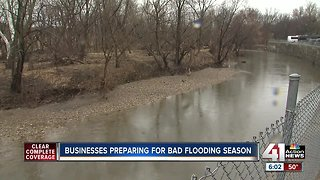 Businesses preparing for bad flooding season
