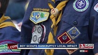 Is there a local impact to the Boy Scouts bankruptcy? According to local Scout leaders, no