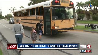 School board meeting on bus safety in Lee County