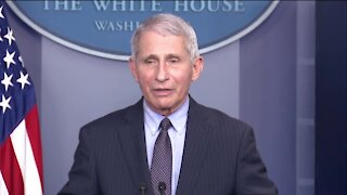 Dr. Fauci gives first White House press briefing under Biden administration