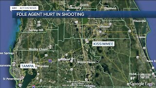 FDLE Tampa agent injured in Kissimmee shooting, police say