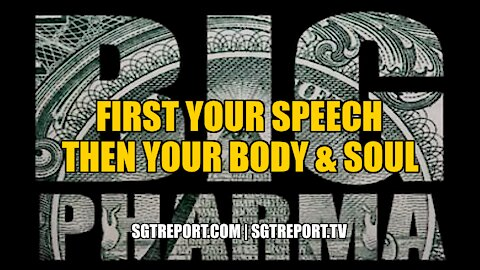 FIRST THEY TAKE YOUR SPEECH, THEN YOUR BODY & SOUL - Maryam Henein