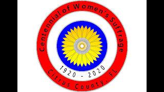 CITRUS CENTENNIAL OF WOMEN'S SUFFRAGE