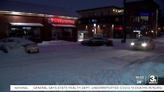 Snow removal operations continue