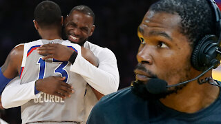 LeBron James' Disses Paul George, Clippers During All-Star Game Draft With Kevin Durant