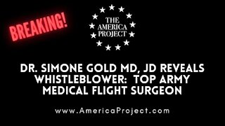 Breaking: TOP Medical official in US ARMY provides affidavid re Covid-19 vaccines