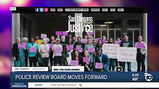 Police review board moves forward