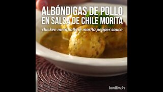 How to make Chicken Meatballs in Morita Chili Sauce