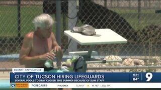 City of Tucson keeps number of pools closed during search for lifeguards