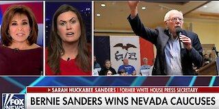 Sarah Sanders warns Trump supporters: Do not take Bernie Sanders for granted