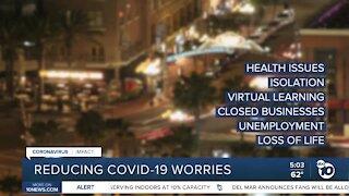 Reducing COVID-19 worries