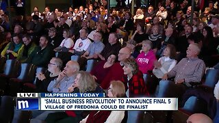Fredonia makes top five for Small Business Revolution