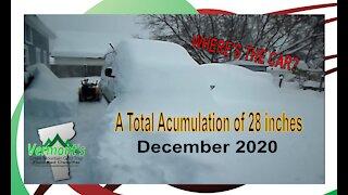 Vermont Snow Storm - Dec 2020
