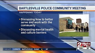 Bartlesville police community meeting today