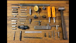 Vintage Machinists Tools