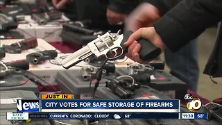 City Council formally approves gun storage ordinance