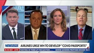 """AIRLINES URGE WH TO DEVELOP """"COVID PASSPORTS"""""""