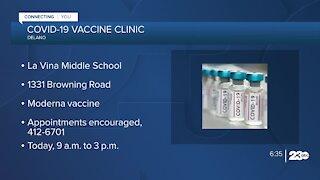 Delano vaccine clinic