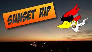 Sunset FPV Drone rip