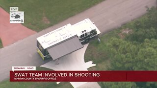 Martin County Sheriff's Office SWAT Team involved in shooting