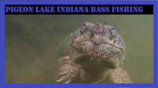 Pigeon Lake Indiana Bass Fishing