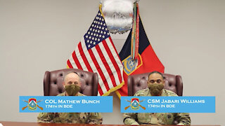 'Patriot' Command Team Speaks about Women's History Month